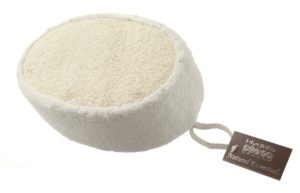 Bamboo & Loofah Sponge for bath or shower