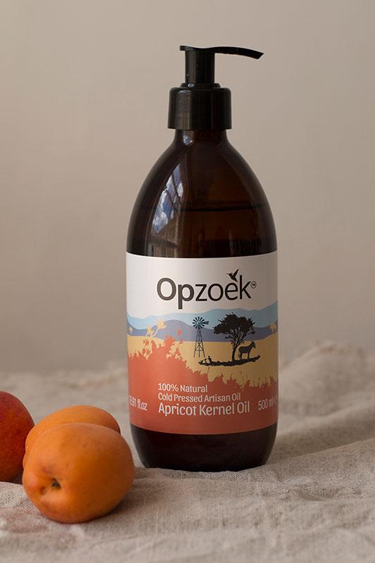 opzoek apricot kernel oil 500ml